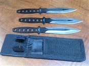 CHINA Display Knife 3PC THROWING KNIFE SET
